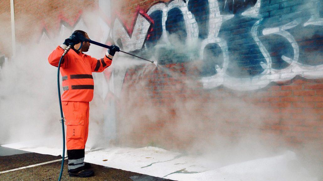 Servicio Limpieza Grafiti NetService